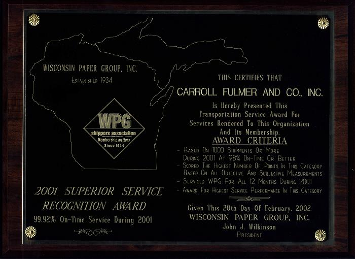Wpg Shipping Schedule Wisconsin Paper Group